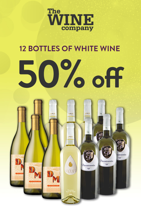 Half price white wine case