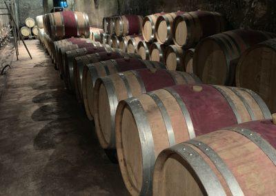10 Wine barrels