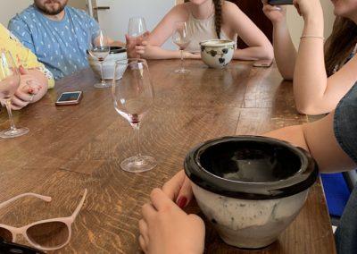 17 Wine tasting continues