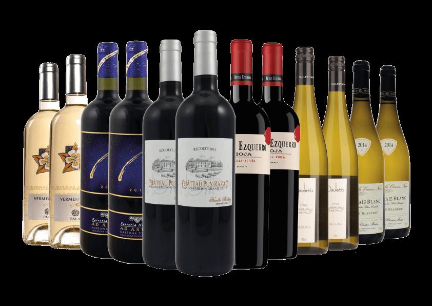 Premium Mixed Wine Case