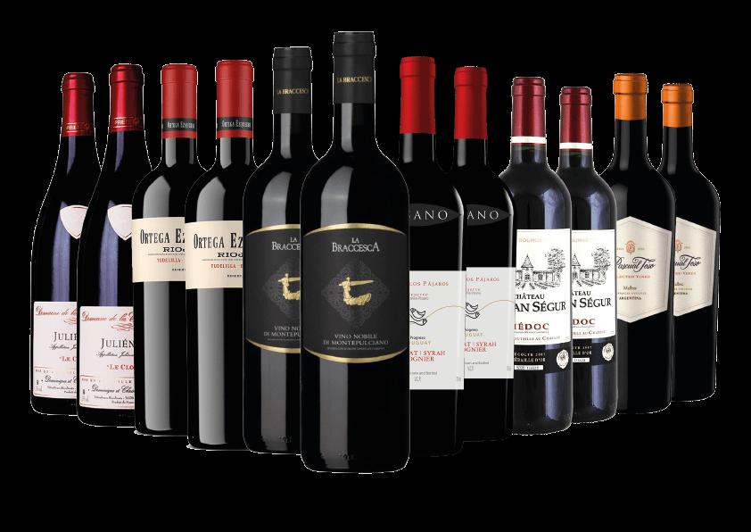 Premium Red Wine Case