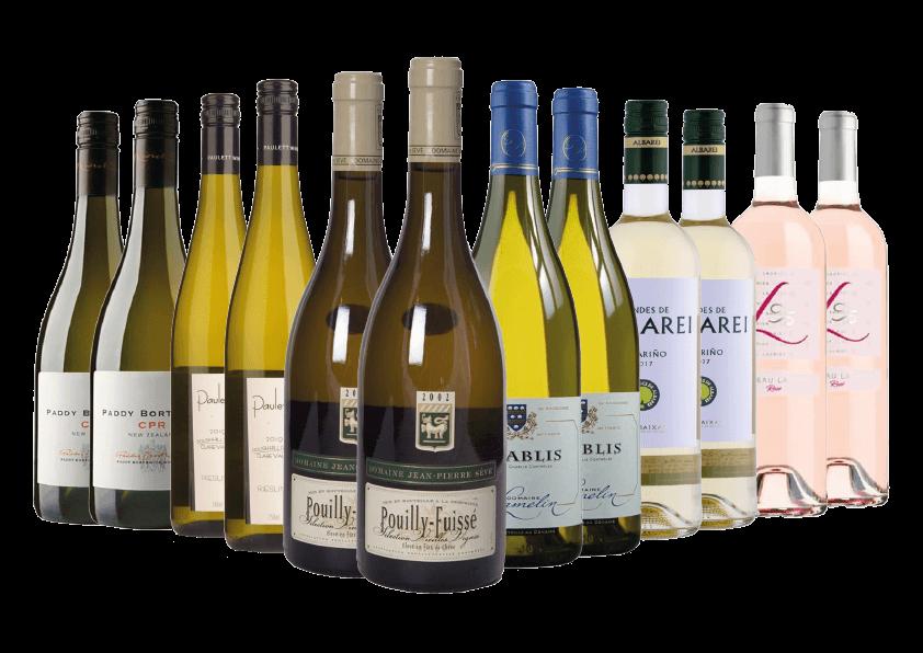 Premium White Wine Case