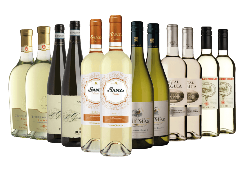Value for Money White Wine Case