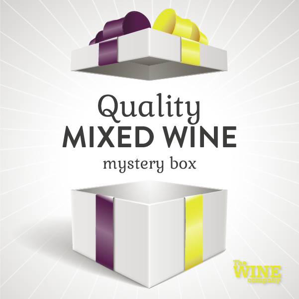 Quality Mystery Box of 6 - Mixed Wine