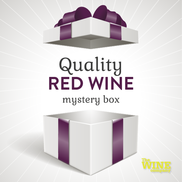 Quality Mystery Box of 6 - Red Wine