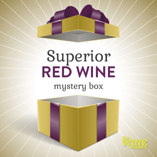 Superior Mystery Box of 6 - Red Wine