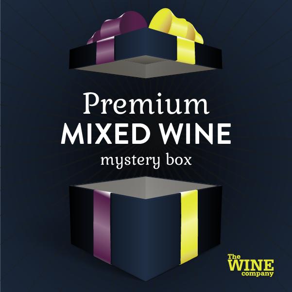 Premium Mystery Box of 6 - Mixed Wine