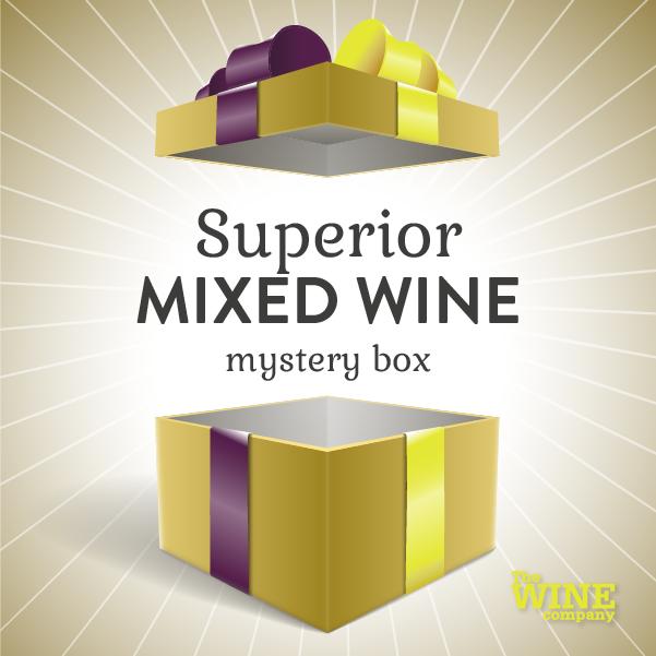 Superior Mystery Box of 6 - Mixed Wine